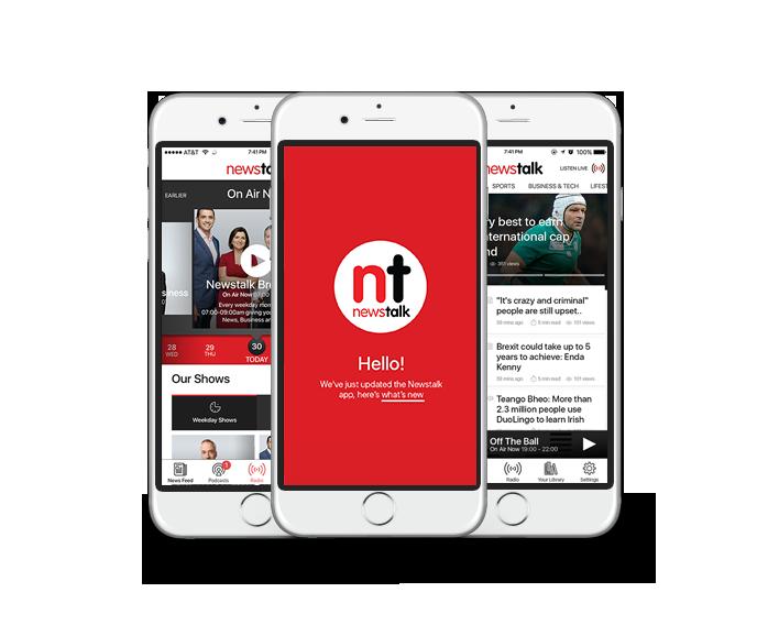 Newstalk App - Designed by Human