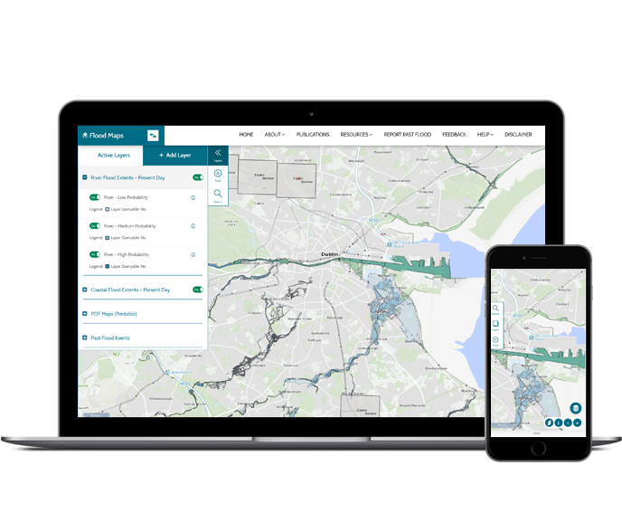 Floodplans.ie - Designed by Human