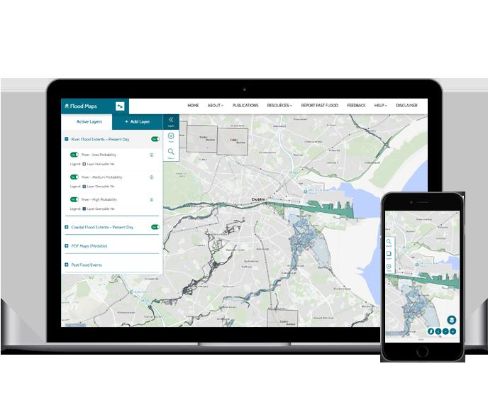 Floodplans.ie - Designed by Human